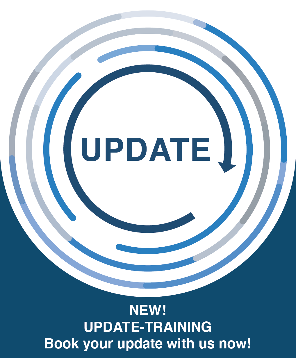 NEW! UPDATE-TRAININGBook your update with us now!